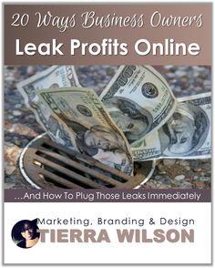 20 Ways Business Owners Leak Profits Online