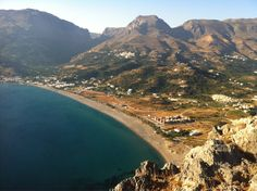 We love Plakias, Crete ❤ Crete Greece, Greek Islands, Holiday Destinations, Strand, Beach, Places To Visit, Wanderlust, River, Summer