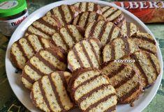 Nutellás-Albertkekszes süti