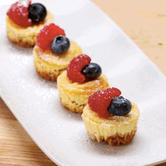 And the end result is just magical. | You Can Make These Lemon Cheesecake Bites In A Muffin Tin
