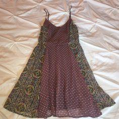 Cute summer dress Cute patterned sun dress. Flowy bottom. Elastic back. Boutique  Dresses Mini