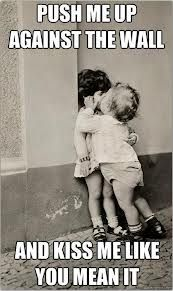 funny kisses, funny kids