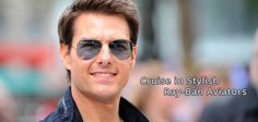 Tom Cruise looks oh-so hot in these Ray-Ban aviators. Find out an extensive range only at http://www.gkboptical.com/sunglasses-fs-aviator/
