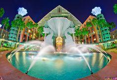 Dolphin Resort at Walt Disney World by Tom Bricker (WDWFigment), via Flickr