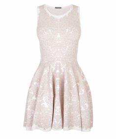 Alexander McQueen ... Jacquard Mini Dress