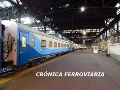 CRÓNICA FERROVIARIA: Hoy parte tren de prueba entre Plaza Constitución ...