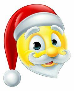 Illustration about A happy Santa Claus Christmas emoji emoticon. Illustration of emoji, emoticons, noel - 59116337 Smileys, Funny Emoticons, Funny Emoji, Xmas Pictures, Emoji Pictures, Emoji Images, Emoji Christmas, Christmas Hat, Christmas Images