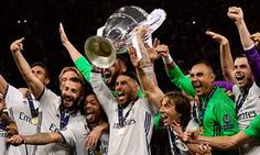 akusonhenry blog: PHOTOS:  Real Madrid win Champions League as Crist...
