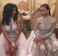 They are slaying there junior prom Prom Girl Dresses, Homecoming Dresses, Formal Dresses, Wedding Dresses, Elie Saab, Prom Goals, Senior Prom, Prom Night, Zuhair Murad