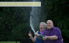 A British couple who scooped in the Euromillions lottery said that they would carry on running their music shop and try to give their children a normal upbringing. Jackpot Winners, Lottery Winner, News Today, New Pictures, Picture Video, Around The Worlds, In This Moment, Couple