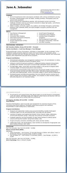 medical social work cover letter