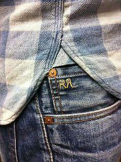 A Salute To Denim & Chambray Perfection Mein Style, Vintage Denim, Denim Fashion, Fashion Menswear, Blue Denim, Blue Jeans, Denim Jeans, Denim Shirts, Men Dress