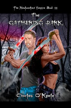 Author of The Newfoundland Vampire series has struck gold again. Cassandra and Joseph are in for another dangerous and delicious adventure in his paranormal romance. Discover Charles O'Keefe's amazing third book in the saga, The Gathering Darkness, in his interview.