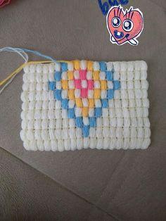 C2c Crochet, Crochet Designs, Embroidery, Stitch, Pattern, Stuff To Buy, Decorated Flip Flops, Hardanger, Tejidos