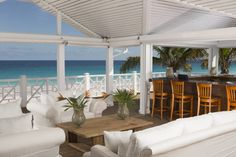 Renovated Beach Bar at Coral Sands Hotel, Harbour Island, Bahamas Harbor Island Bahamas, Island Beach, Beach Honeymoon Destinations, Beach Hotels, Pink Sands Resort, Bahamas Resorts, Bahamas Trip, Village Hotel, Pink Sand Beach
