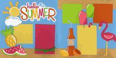 Hello Summer Page Kit