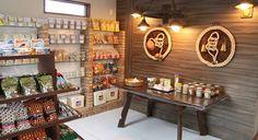 Shop Interiors, Bar, Pet Shop, Liquor Cabinet, Furniture, Design, Home Decor, Shop Fronts, Grain Store