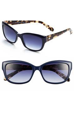 kate spade 'johanna' 53mm retro sunglasses | Nordstrom
