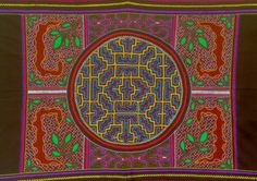 Shipibo Textile - hand embroidered