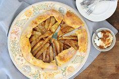 Peren galette met mascarpone en speculaas - Francesca Kookt