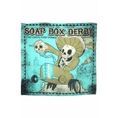 Shower Curtain - Soap Box Derby - LOVE THIS!