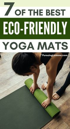 7 Best Eco-Friendly Yoga Mats for a Healthier Practice | Every yogi knows the value of a high-quality yoga mat. Here are top picks of eco-friendly, non-toxic yoga mats that will take your practice to the next level! #ecofriendly #yoga #yogamats #wellness #sustainableliving Best Fat Burning Workout, Best Ab Workout, Fat Workout, Workouts For Teens, Easy Workouts, Yoga Workouts, Workout Routines, Fast Weight Loss Diet, Yoga For Weight Loss
