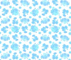 Blue China fabric by chrisforsman on Spoonflower - custom fabric