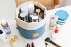 3-Piece Carry-All Travel Cosmetic & Jewelry Organizer   73% OFF