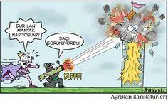 IŞİD ve Rapunzel Karikatürü Ayrıkan Karikatürleri