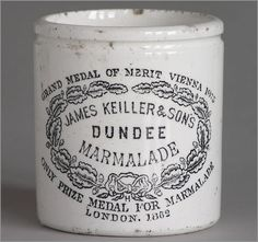 In 1797 Janet Keiller launched the world�s first commercial marmalade in Dundee, apocryphally after receiving a batch of bitter oranges from Spain, but actually by adapting an existing recipe. | 25 Times Scotland Changed The World