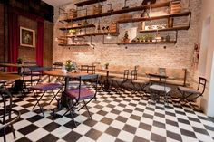 View the full picture gallery of Victoria Brown Bar & Restaurant Retro Furniture, Industrial Furniture, Online Furniture, Restaurant Pictures, My Bar, Interior Decorating, Interior Design, Restaurant Bar, Coffee Shop