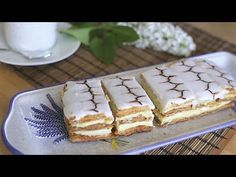 Mille feuille is a classic French dessert, and this recipe is deceptively easy to make! Using shop-bought puff pastry makes your life a lot easier, and you can make the pastry cream a day ahead of time. Vanilla Recipes, Uk Recipes, Pastry Recipes, Cream Recipes, Dessert Recipes, Vanilla Pastry Cream Recipe, Yorkshire Pudding Recipes, Classic French Desserts, Cake Cookies