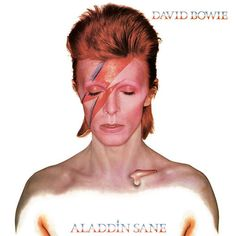 David Bowie - Aladdin Sane Best Album Covers, Art | Greatest of All Time| #albumCover #musicisart