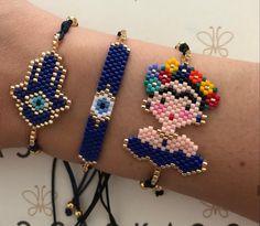 Beading Patterns Free, Loom Patterns, Free Pattern, Handmade Bracelets, Handmade Jewelry, Tear, Beaded Rings, Tutorials, Bracelets