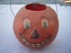 Vintage Early Jackolanter Hand Painted | eBay