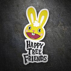 Pegatinas: Happy tree friends #coche #pegatina #sticker
