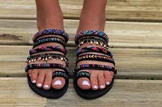 Handmade Sandals Greek Leather Sandals Boho sandals Gypsy