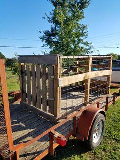 A small livestock box