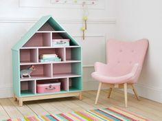 bibliothèque maison enfant