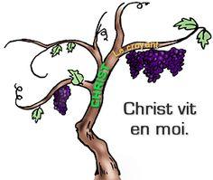 Christ vit en moi.