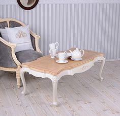 Wohnzimmertisch Villa Vintage Couchtisch Weiss Tisch Shabby Chic Unbekannt Amazon
