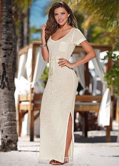 T shirt maxi dress in the VENUS Line of Dresses for Women