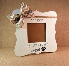 Dog memorial frame, pet loss gifts, dog sympathy gift dog loss