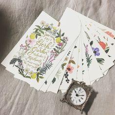 2017 Rifle Paper Co Botanical calendar. Yes, please!  Marigolds of Summerville