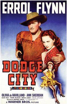 Dodge City 11x17 Movie Poster (1939)