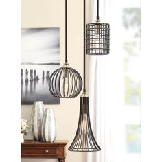 Renate Trio Chandelier - Overstock™ Shopping - Great Deals on Chandeliers & Pendants