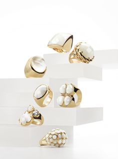 Bold white rings are the easiest way to update your summer style via @Nordstrom