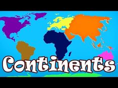 Kid Songs | Seven Continents Song for Children | The Continents Song - YouTube