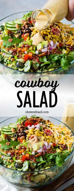 Bbq Salads, Savory Salads, Dinner Salads, Summer Salads, Summer Bbq, Healthy Salads, Healthy Food, Kitchen Recipes, Cooking Recipes