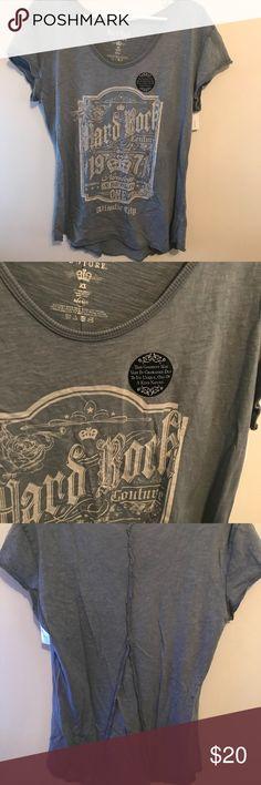 Hard Rock Atlantic City Tee BNWT Hard Rock Atlantic City Tee Shirt Never worn hard rock Tops Tees - Short Sleeve